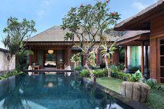 One Bedroom Pool Villa – Swimming Pool. Mandapa, a Ritz-Carlton Reserve, Ubud, Indonesia. © The Ritz-Carlton Hotel Company Bali Resort, Best Resorts, Hotels And Resorts, Architectural Digest, Tropical Architecture, Most Luxurious Hotels, Le Havre, Tropical Houses, Pool Houses