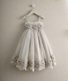 girls heirloom rosette dress