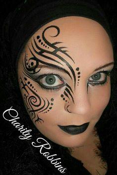#tribal #face #paint