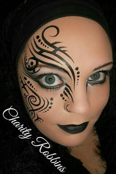 #tribal #face #paint
