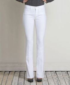 Look what I found on #zulily! White Bootcut Jeans - Women by Henry & Belle #zulilyfinds