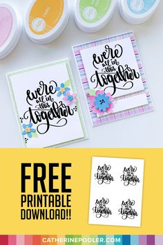 Free Lettering Worksheets That Will Teach You How To Letter Hand Lettering Practice, Free Art Prints, Sugar Craft, Pencil And Paper, School Gifts, Do It Yourself Home, Cute Cards, Greeting Cards Handmade, Things That Bounce