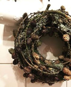 Weihnachten - New Ideas Country Christmas, Winter Christmas, Outdoor Christmas Decorations, Holiday Decor, Nature Crafts, Holiday Wreaths, Creations, Bouquet, Iren