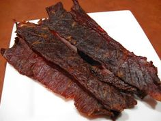 homemade beef jerky, nitrite-free. Make a good snack for fast metabolism diet phase 2