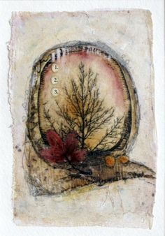 Tea Bag Art  1.2.3. Go by KimHenkelCreations on Etsy