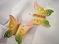 How to Make Gum Paste Lace Butterfly