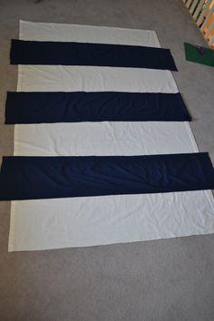 Striped Curtains On Pinterest Horizontal Striped Curtains Painted Curtains And Ruffle Curtains