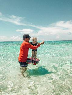 daddy love, ocean beauty