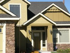 This Is An Example Of Certainteeds Cement Board Siding In