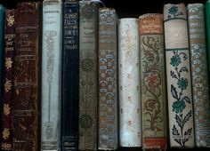 Old Books, Antique Books, Vintage Books, Vintage Library, Buch Design, Book Spine, Book Aesthetic, Book Nooks, I Love Books