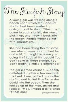 Starfish Story Printable - Bing Images