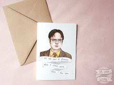 For fans of The Office. | Community Post: 21 Great Valentine's Day Cards From Etsy For The Television Fan