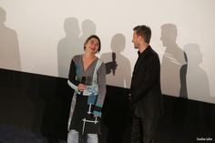 Les directeurs du festival, Hélène Pravong et Bastian Meiresonne