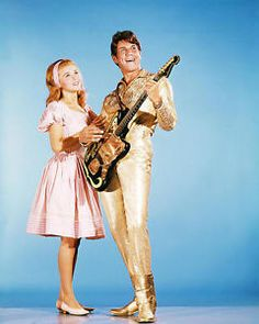 Ann-Margret and Jesse Pearson in Bye Bye Birdie Bye Bye Birdie Movie, Vintage Hollywood, Classic Hollywood, Ann Margret Photos, Bobby Rydell, Movie Market, Theatre Nerds, Theater, Star Pictures