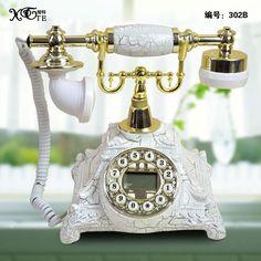Old fashioned antique telephone fashion vintage machinery