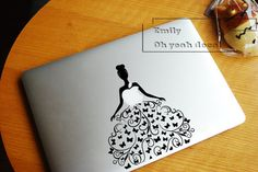 dancing girl- macbook decal/Decal for Macbook Pro, Air or Ipad/Stickers/Macbook Decals/Apple Decal for Macbook Pro / Macbook Air/laptop 1191 on Etsy, $9.99