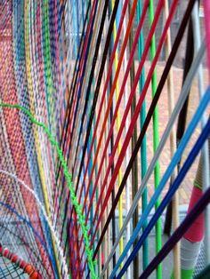 Detail in Textielmuseum Tilburg