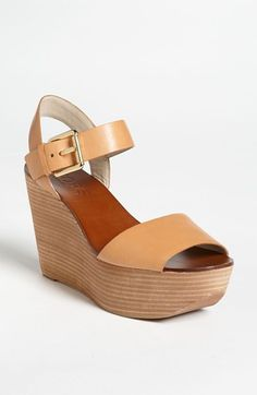 KORS. Michael Kors 'Xaria' Wedge Sandal available at #Nordstrom