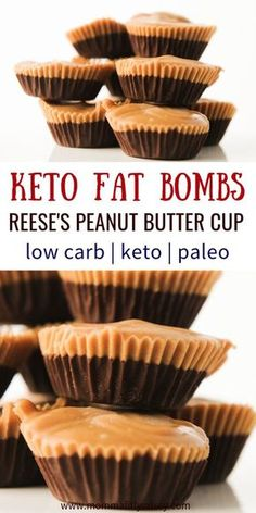 Keto Fat Bomb recipes are the perfect low carb dessert! These eaay peanut butter chocolate fat bombs are the best tasting keto fat bombs I have tried! Reese's Chocolate, Chocolate Fat Bombs, Chocolate Peanut Butter Cups, Chocolate Recipes, Ketogenic Diet For Beginners, Ketogenic Recipes, Healthy Recipes, Diet Recipes, Protein Recipes