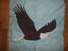 https://flic.kr/p/SpdPH8   A bird quilt in my future?   I designed this large block using a photo I took of a Bald Eagle. I am making improvements and putting it in the center of a quilt. Maybe a Quilts of Valor challenge?