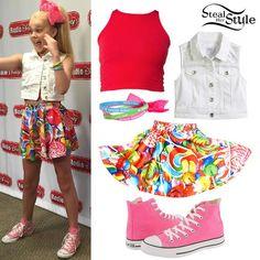 JoJo Siwa: Denim Vest, Lollipop Skirt