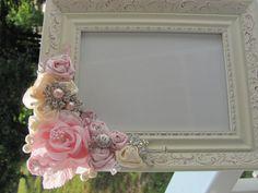 floral frame for girls room