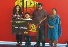 An Indian expatriate, John Varghese recently became the new multi-millionaire of Big Ticket raffles after winning Dh12 million, the second biggest jackpot of the Big Ticket raffle in Abu Dhabi. His winning ticket number is 093395.