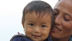 A mother with her baby - Progress Report 'Malnutrition after premature birth in Maila'