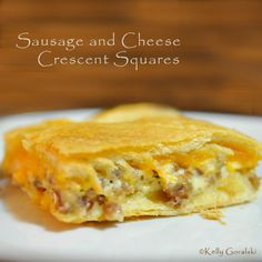 Pillsbury Crescent Bacon-Cheese Tartlets | Food and Drinks I love ...