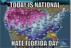 February 18 – National Hate Florida Day