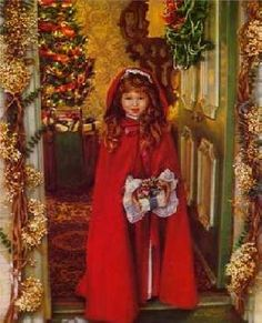 Sandra Kuck Merry Christmas - she paints beautiful children!