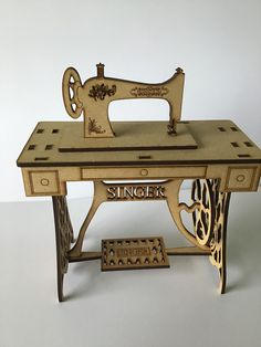Sewing Table, Vintage Sewing, Antiques, Furniture, Home Decor, Vintage Couture, Antiquities, Antique, Interior Design