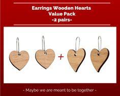 Earrings Hearts 2 pack, $19.95 AUD
