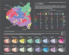 Map of Paris mood by @kamisphere #dataviz