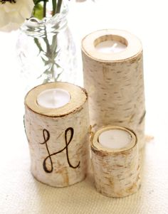 Birch Wood Candles From the FOLK Magazine Wish List