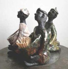 Name: Toothpick Clown Artist: Grete Ryberg Høgh Gallery: Kunstsamlingen Height: 12 cm Width: 8 cm Price: 500 kr. #kunstsamlingen #kunst #artcollection #art #painting #maleri #galleri #gallery #onlinegallery #onlinegalleri #kunstner #artist #danishartists #claysculpture #clay #sculpture #greteryberghøgh