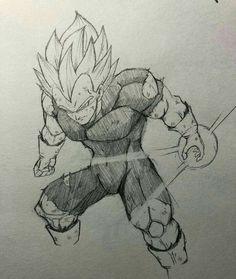 Vegeta Super Sayajim Dragon Z, Ball Drawing, Donia, Art Graphique, Creature Design, Drawing Reference, Art Sketches, Character Art, Ciri