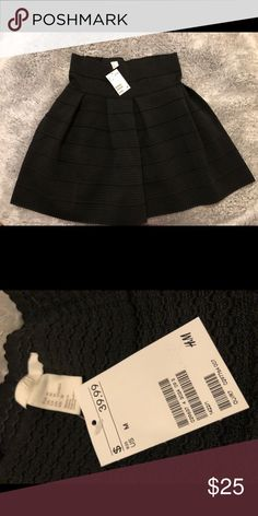 H&M skirt. Brand new with tags! Super cute! H&M Skirts Mini