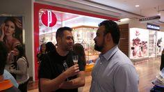 Com Marcio Miguel na inauguração da joalheria Pandora no JundiaíShopping