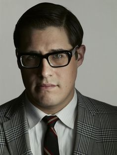 If I have to replicate a style, a more modern look of Mad Men's Harry Crane would be my model.     For those of you who are curious, this is actor Rich Sommer. He's a very talented actor and one of many reasons to take the time to watch Mad Men, its got the best writing and talent on television right now.