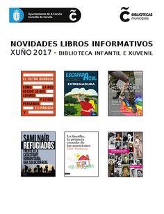 Libros informativos incorporados na Biblioteca Infantil e Xuvenil no mes de xuño do 2017