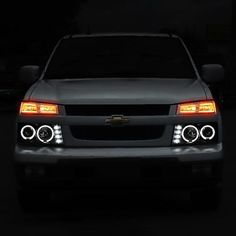 2004 2017 Chevy Chevrolet Colorado Gmc Canyon Osram Led Halo Drl Daytime Running Lights Front