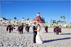 Hotel Del Coronado Wedding | San Diego Wedding Photographers | Sara France of France Photographers | Beach and Ballroom Wedding