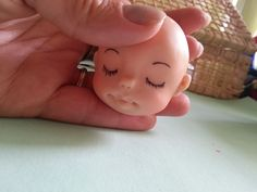 Aula de Biscuit - Rosto de bebê Parte 1
