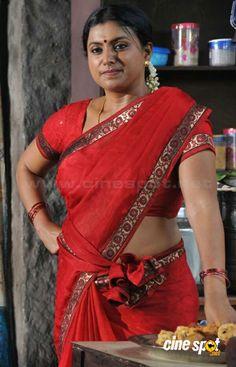 Hot beauty in sexy red saree Indian Natural Beauty, Indian Beauty Saree, Beautiful Bollywood Actress, Most Beautiful Indian Actress, Hot Actresses, Indian Actresses, Aishwarya Rai Without Makeup, Roja Hot, Women Wearing Ties