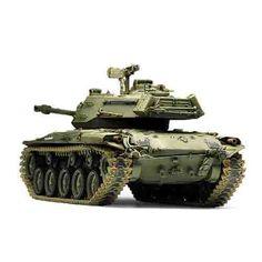 "Armored Car Tank Military Model 1/35 M41A3 ""U.S Light Tank"" #13285"