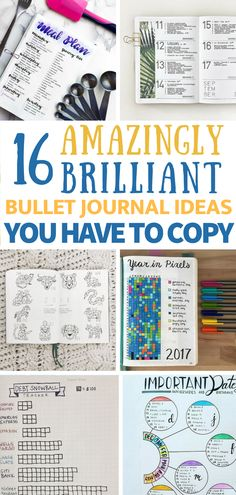 16 Clever Bullet Journal Ideas to Become an Organized Mastermind - 16 Amazingly Brilliant Bujo Ideas You Have to Copy How To Bullet Journal, Bullet Journal Spread, Bullet Journal Layout, Bullet Journal Inspiration, Bullet Journals, Bullet Journal Expense Tracker, Bullet Journal Expenses, Bullet Journal Project Planning, Life Inspiration
