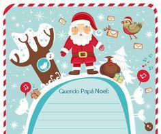 Carta a Papá Noel para imprimir Descárgate gratis esta original y exclusiva carta a Papa Noel