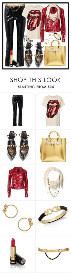 """""""Panic At The Disco 🎸"""" by mavinex-de-nova ❤ liked on Polyvore featuring Helmut Lang, MadeWorn, Rue St., Sophie Hulme, BCBGeneration, J.W. Anderson, Charter Club, Gucci, Maison Mayle and MyFaveTshirt"""