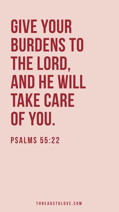 He Will Take Care of You
